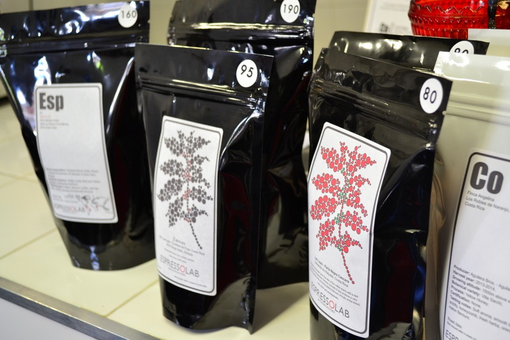 Espresso Lab coffee