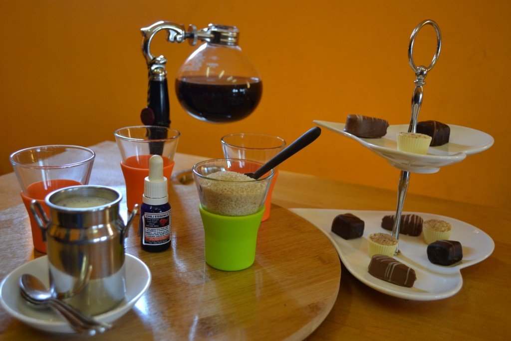 Coffee Chocolate Pairing