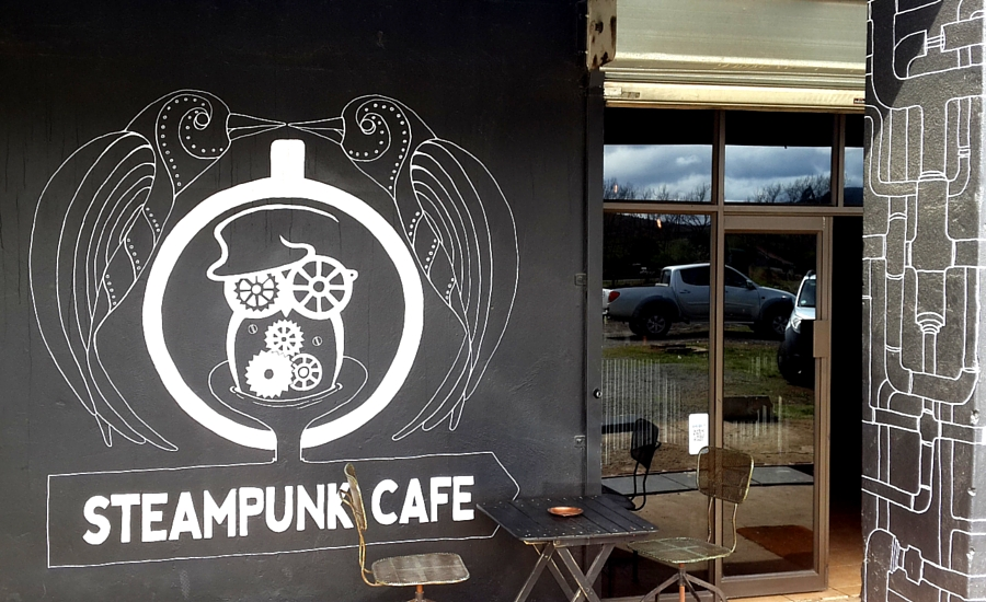 Steampunk Cafe