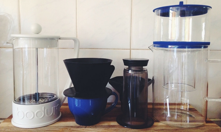 Home Brew Coffee Methods