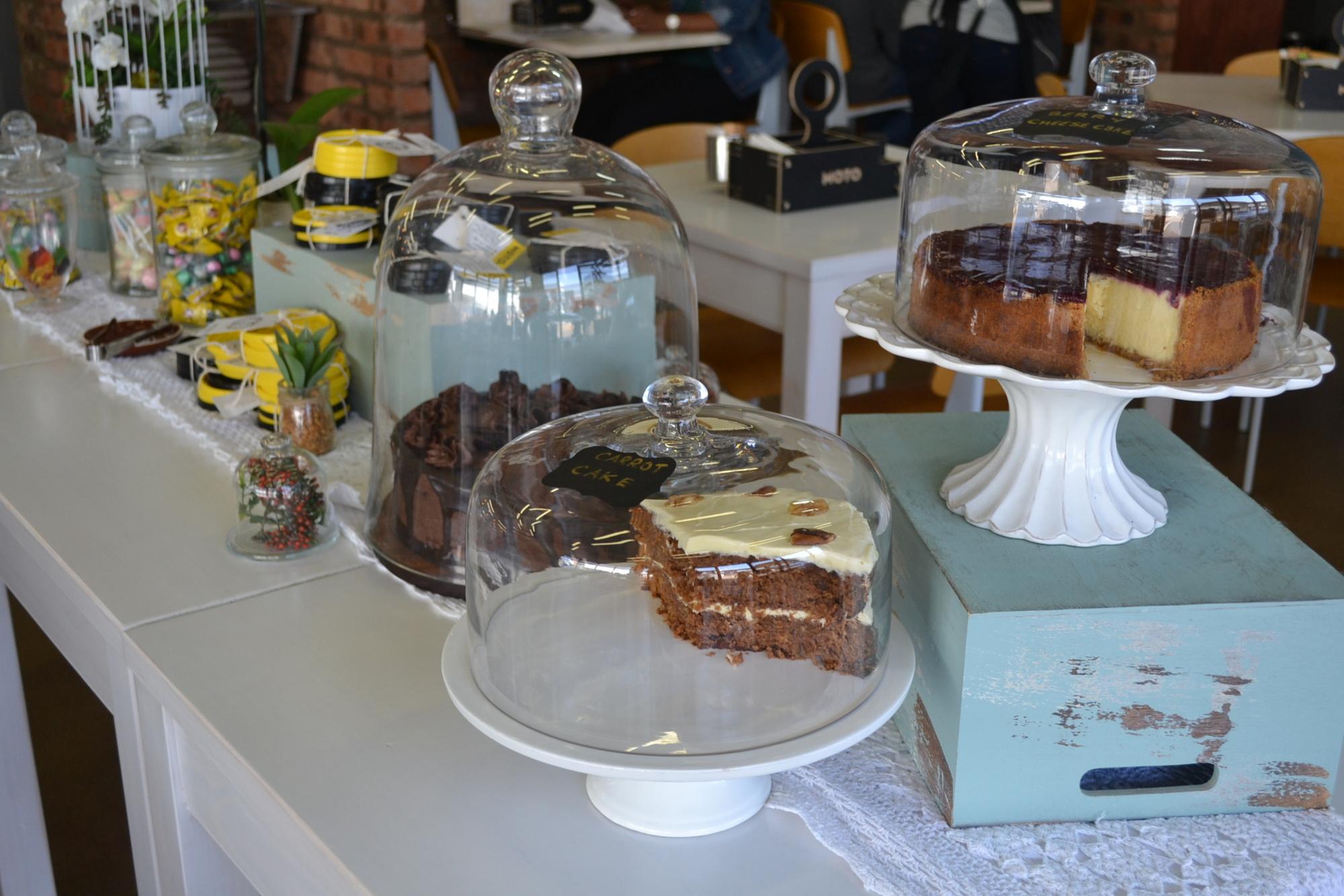 Moto Cafe Cake